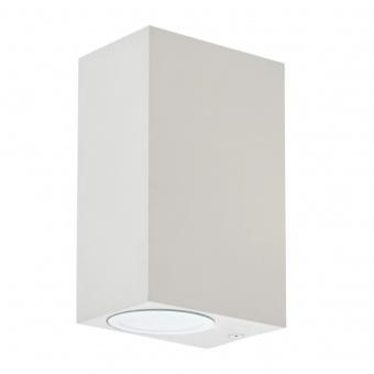 метален градински аплик, бял, elbulgaria, 2x40w, 1497 wh