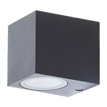 метален градински аплик, черен, elbulgaria, 1x40w, 1496 sbk