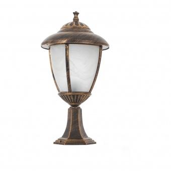 метален градински фенер, антично злато, elbulgaria, 1x40w, 1498/s sbc