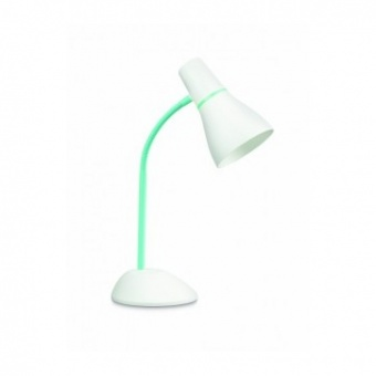 pvc работна лампа, green, philips, pear, 1x11w, 71567/33/pn