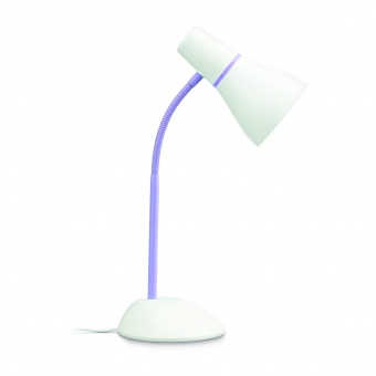 pvc работна лампа,  purple, philips, pear, 1x11w, 71567/96/pn