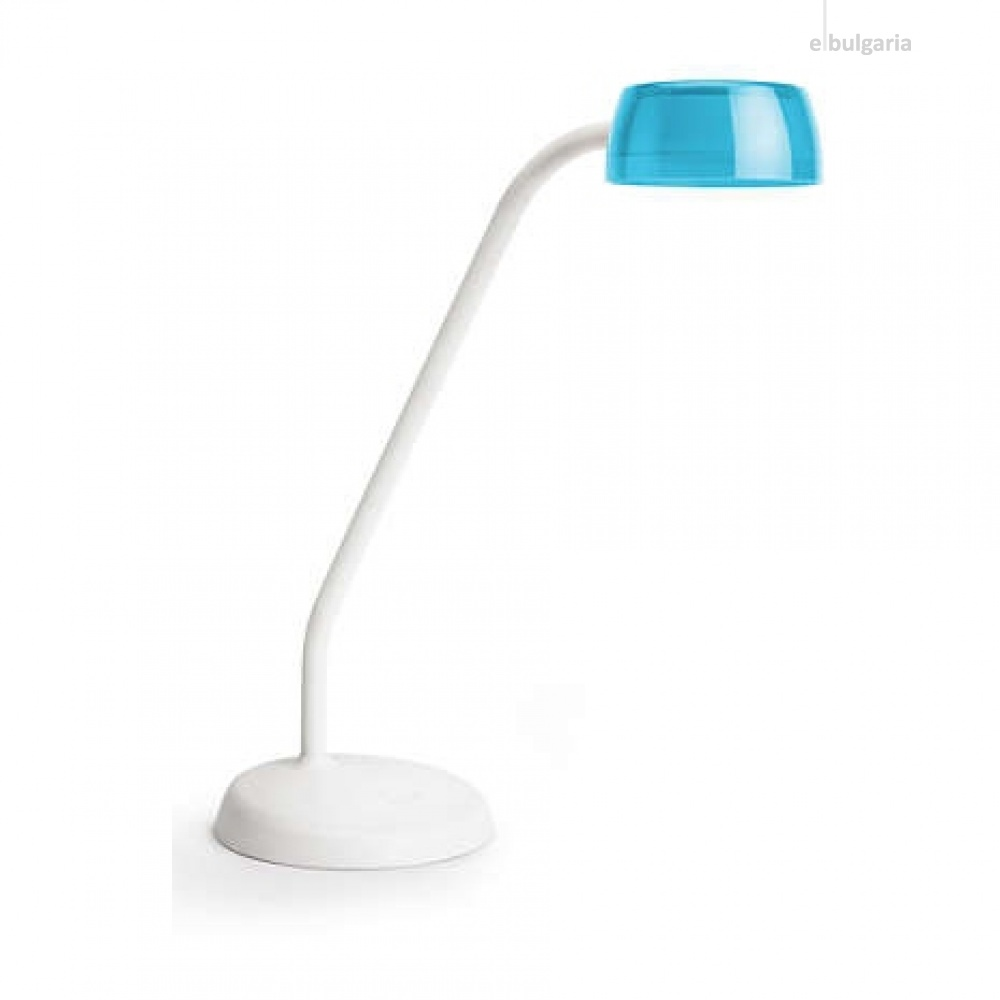 pvc работна лампа, blue, philips, jelly, led 1x3.6w, 4000k, 380lm, 72008/35/16