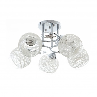 метален полилей, хром, elbulgaria, 5x40w, 1140/5 ch