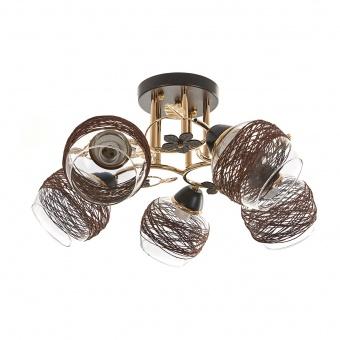 метален полилей, злато, elbulgaria, 5x40w, 1140/5 gd
