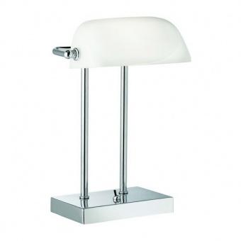 метална работна лампа, chrome, searchlight, bankers, 1x40w, eu1200cc