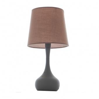 метална настолна лампа, сив, elbulgaria, 1x40w, 1486-gr