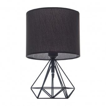 метална настолна лампа, черен, elbulgaria, 1x40w, 1487-bk