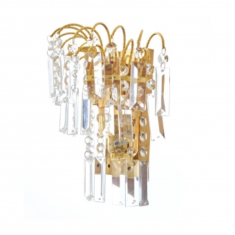 кристален аплик, злато, elbulgaria, 2x40w, 1482 gd