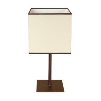 текстилна настолна лампа, крем, siriuslights, милано, 1x40w, 242531