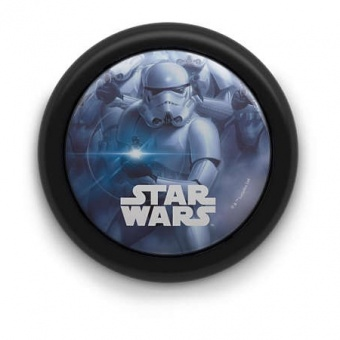 pvc аплик, mixed, star wars, philips, led 1x0.3w, 5lm, 71924/30/p0