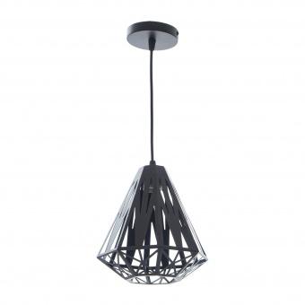 метален пендел, черен, elbulgaria, 1x40w, 1469/1s bk