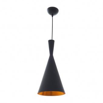 метален пендел, черен, elbulgaria, 1x40w, 1471 bk