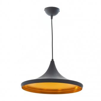 метален пендел, черен, elbulgaria, 1x40w, 1473 bk