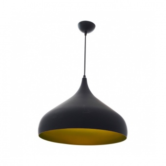 метален пендел, черен, elbulgaria, 1x40w, 1476 bk