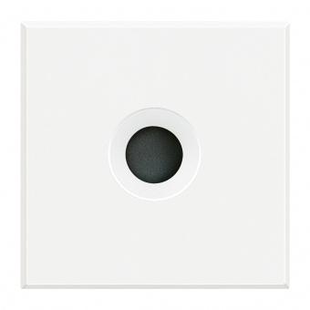 празен панел, двумодулен, white, bticino, axolute, hd4954