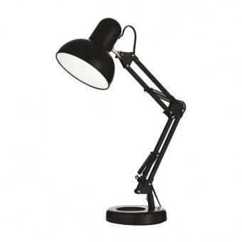 метална работна лампа, nero, ideal lux, kelly tl1, 1x42w, 108094