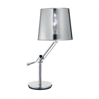 pvc работна лампа, cromo, ideal lux, regol tl1, 1x60w, 019772