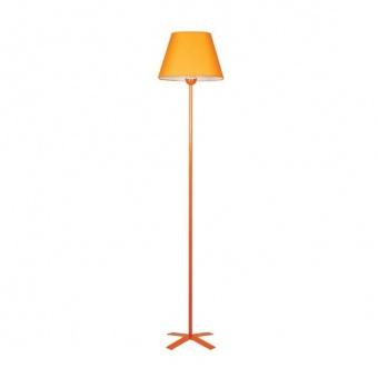 текстилен лампион, оранжев, siriuslights, шинц пирамида, 1x60w, 228851