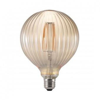 led лампа, топла светлина, horoz, 6w, e27, 2200k, 540lm,rustik meridian-6, 001-037-0006