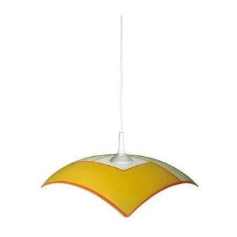 стъклен пендел, оранжев, siriuslights, амбър, 1x60w, 105439