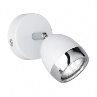 метален спот, white, rl, nantes, led 1x3w, 3000k, 230lm, r82101101