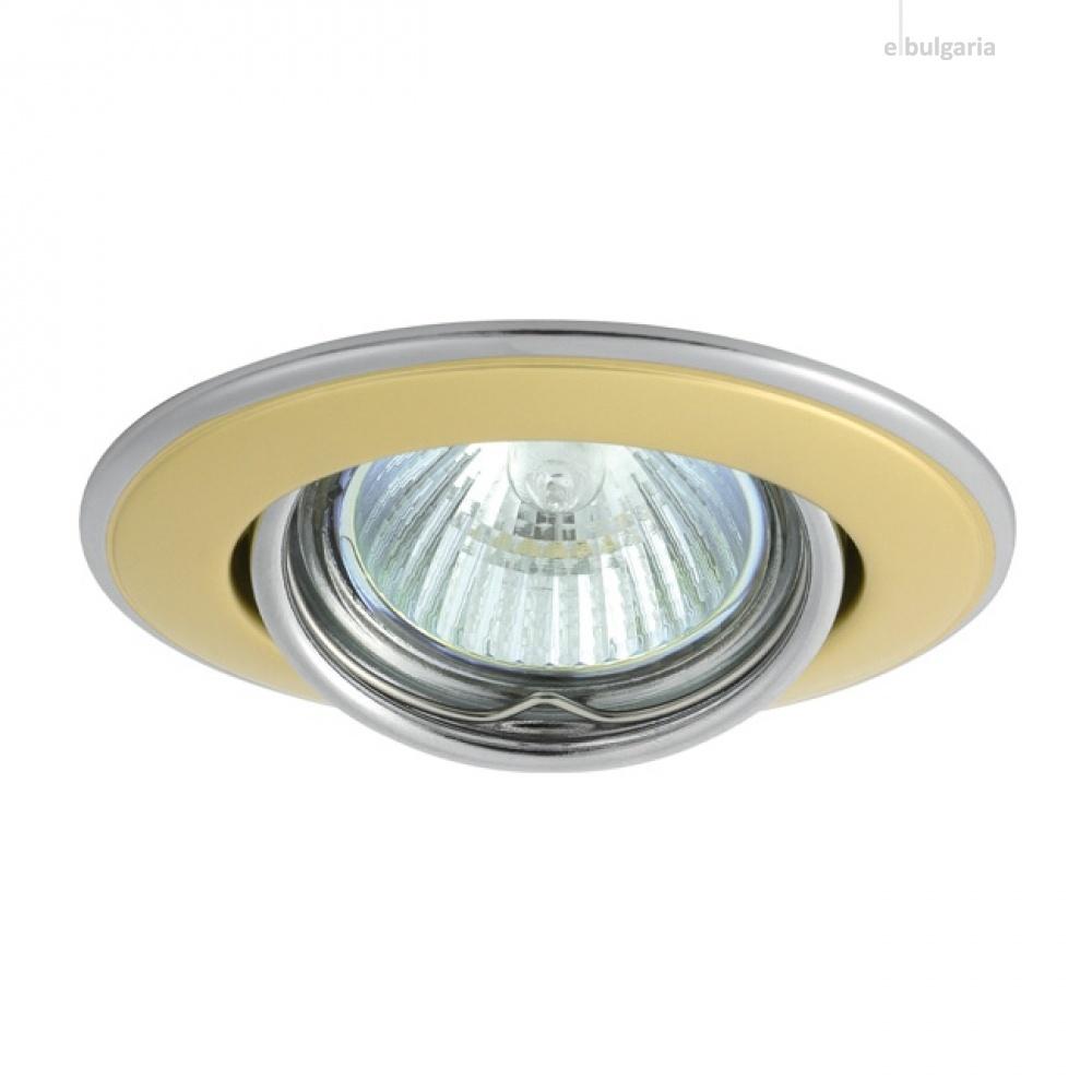 метална луна, pearl gold/nickel, kanlux, horn 3115, 1x50w, 02833
