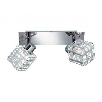 метален спот, chrome, rl, jail, led 2x28w, 740lm, 2800k, r81352106