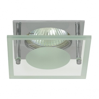 стъклена луна, chrome, kanlux, noma, 1x50w, 02566