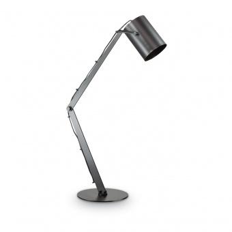 метална работна лампа, nero, ideal lux, bin tl1, 1x42w, 144863