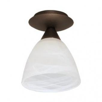 стъклен плафон, патина, siriuslights, мини, 1х60w, 207911