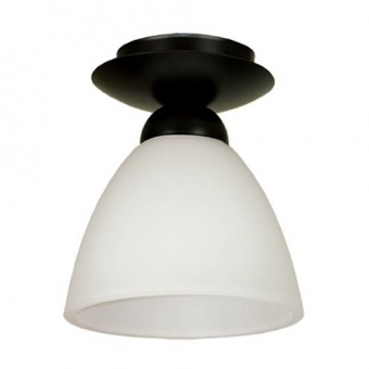 стъклен плафон, черен, siriuslights, мини, 1х60w, 237611