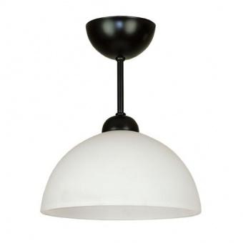 стъклен пендел, черен, siriuslights, мини, 1х60w, 237601