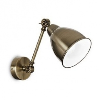 метален аплик, brunito, ideal lux, newton ap1, 1x60w, 027876