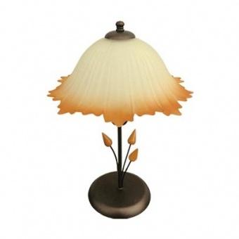 стъклена настолна лампа, патина, siriuslights, барселона, 1x60w, 201031