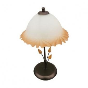 стъклена настолна лампа, патина, siriuslights, толедо, 1x60w, 200331