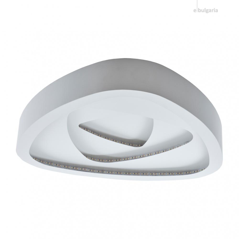 метален плафон, бял, elbulgaria, led 80w, 4000k, 1478а