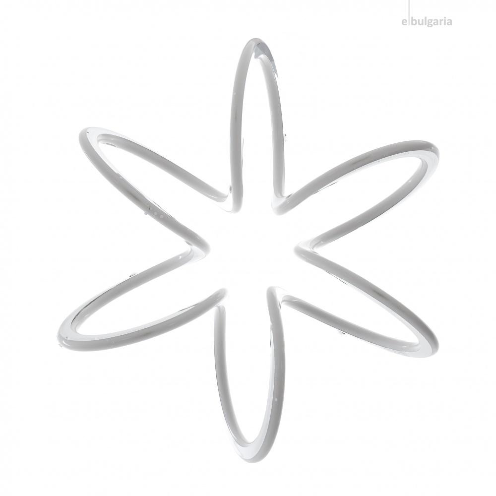 метален полилей, хром, elbulgaria, led 80w, 4000k, 1481 ch