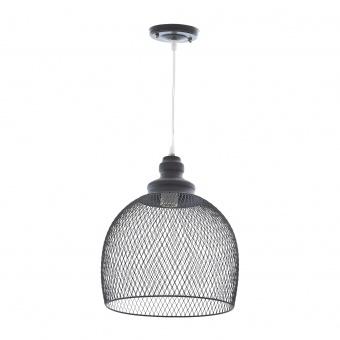 метален пендел, черен, elbulgaria, 1x40w, 1434 bk
