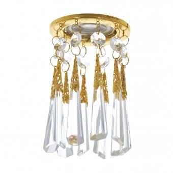 стъклена луна, злато, elbulgaria, 1x40w, 1495 gd