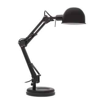 метална работна лампа, black, kanlux, pixa, 1x40w, 19301