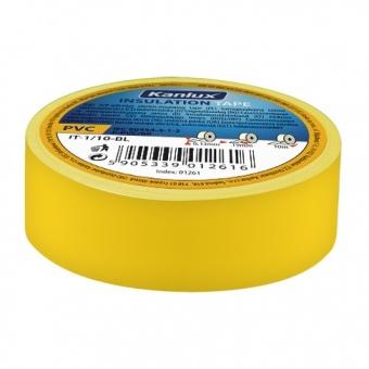 изолирбанд лента, yellow, kanlux, it-1/20-y, 20m, 01272