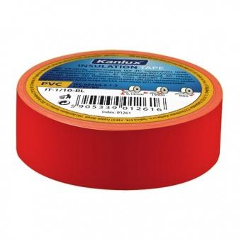 изолирбанд лента, red, kanlux, it-1/20-re, 20m, 01273
