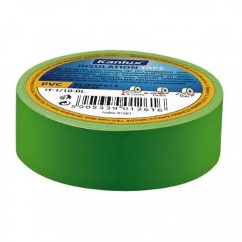 изолирбанд лента, green, kanlux, it-1/20-gn, 20m, 01274