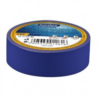 изолирбанд лента, blue, kanlux, it-1/20-bl, 20m, 01275