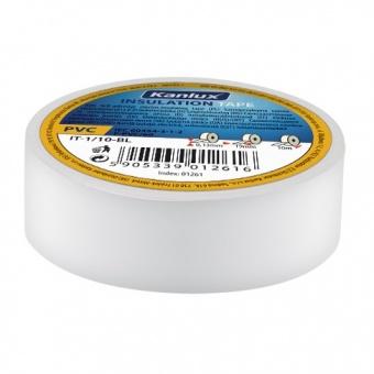 изолирбанд лента, white, kanlux, it-1/20-w, 20m, 01276
