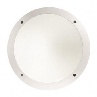 акрилно градинско тяло, bianco, ideal lux, lucia 1, 1x23w, 096667