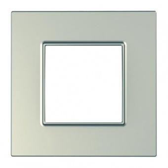 рамка, титан, schneider, unica quadro, mgu6.702.57