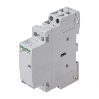 модулен контактор, ict 25a, еднополюсен, 1no, 220v, 50hz, acti 9.schneider, a9c20731