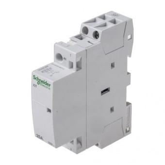 модулен контактор, ict 25a, еднополюсен, 2no, 220v, 50hz, acti 9.schneider, a9c20732