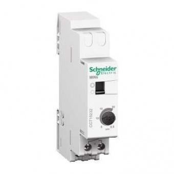 електронен таймер, безшумен, mins, регулируем от 0,5-20 минути, acti 9, schneider, cct15232